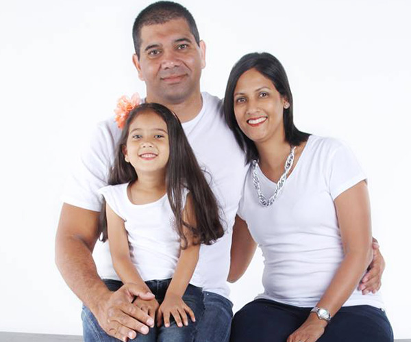 Shahana with a family of her own - South Africa - Steven Martin's host family - Cape Town