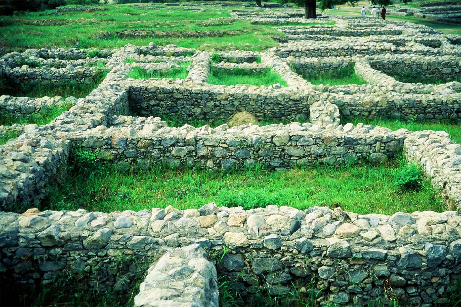 Sirkap archaeological site 2001 | Taxila  Punjab  Pakistan | Dr Steven Andrew Martin | Silk Road Photo Journal