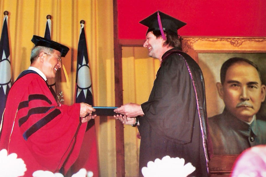 Dr Steven A Martin – National Chengchi University, Taiwan – Master of Arts (MA) in Taiwan Studies