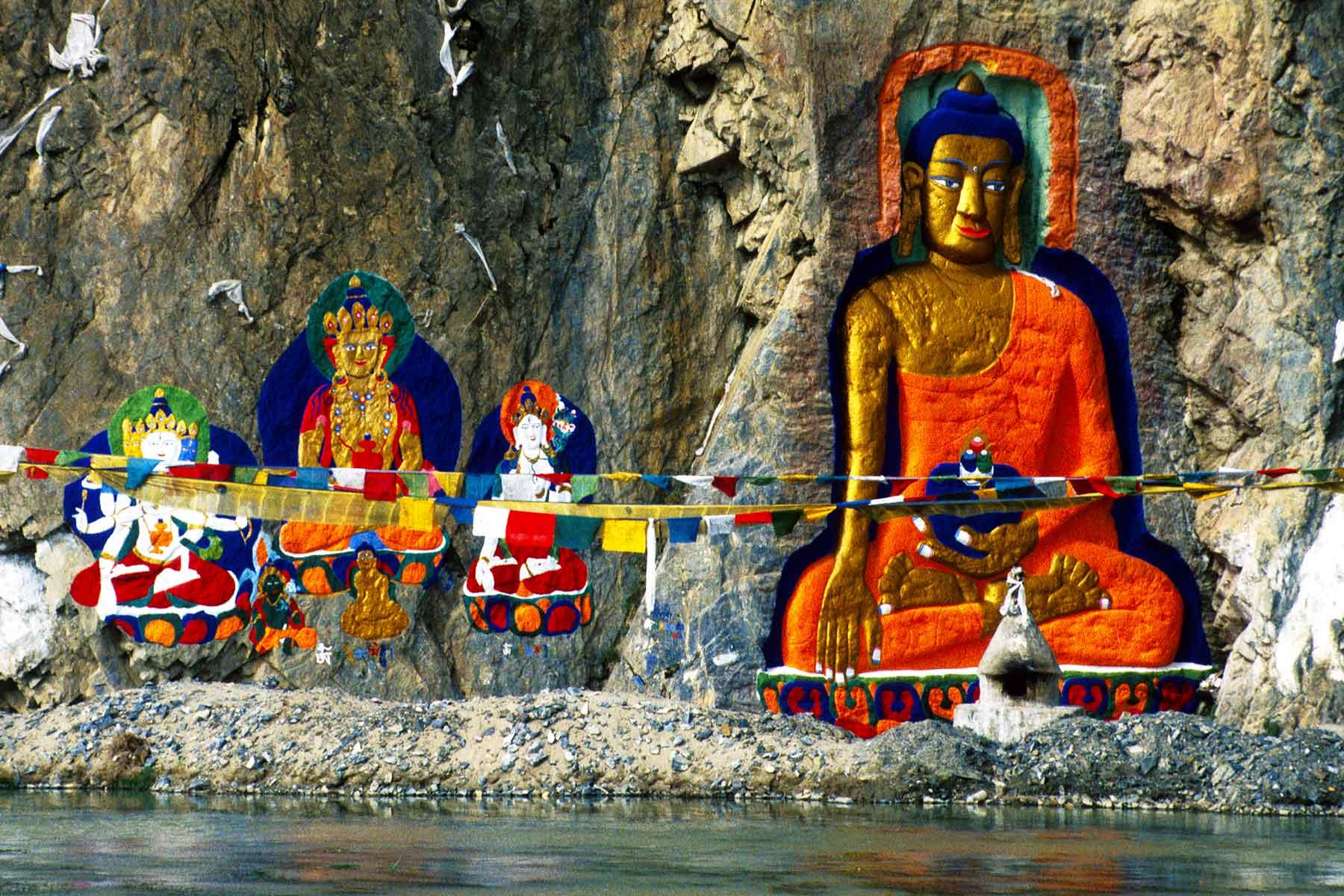 Ancient Buddhist rock art - Lhasa Tibet - Steven Andrew Martin - Study Abroad Journal - University of Hawaii