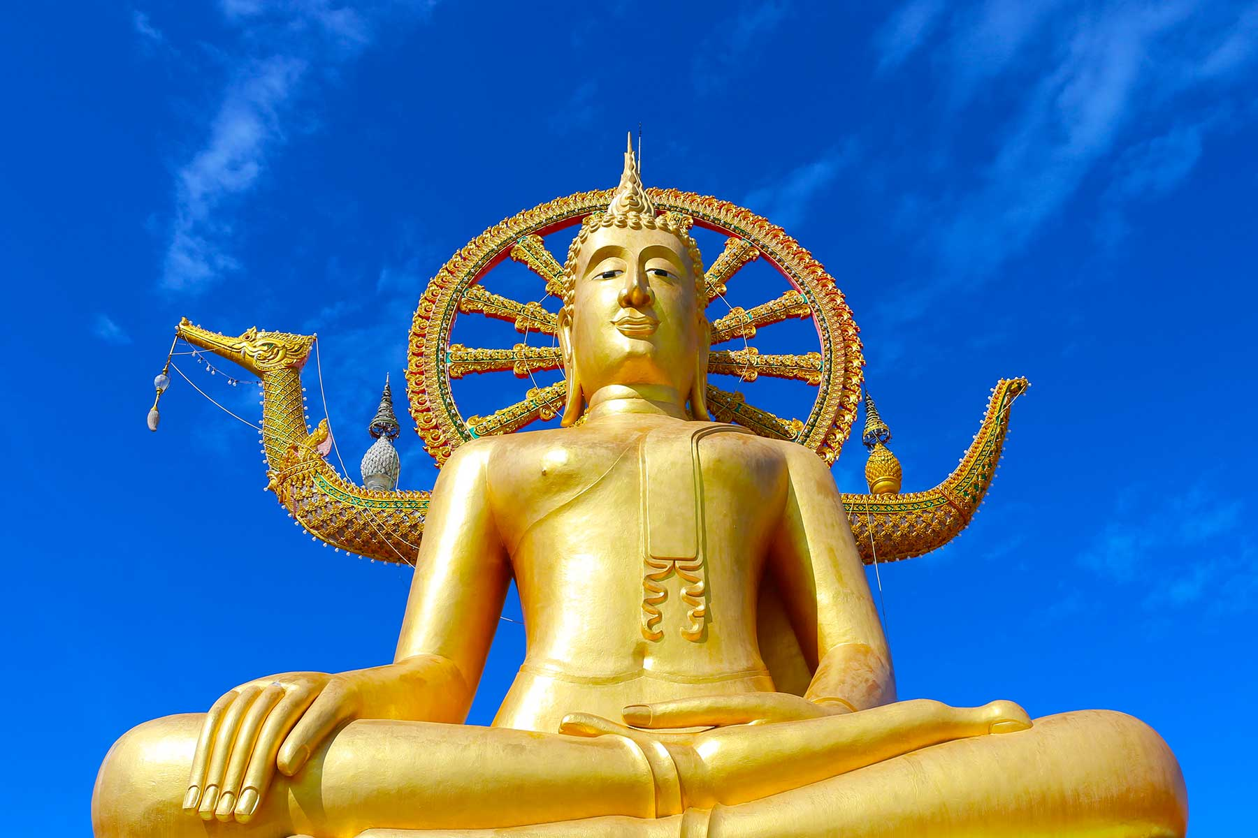 Golden Buddha Thailand | Ko Samui | Professor Steven A Martin | Southeast Asian Civilization | Thai Geography