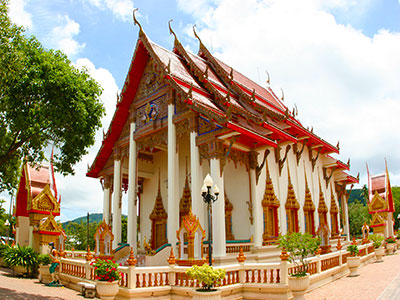 Chalong temple, Phuket, Thailand Photo Journal - Steven Andrew Martin