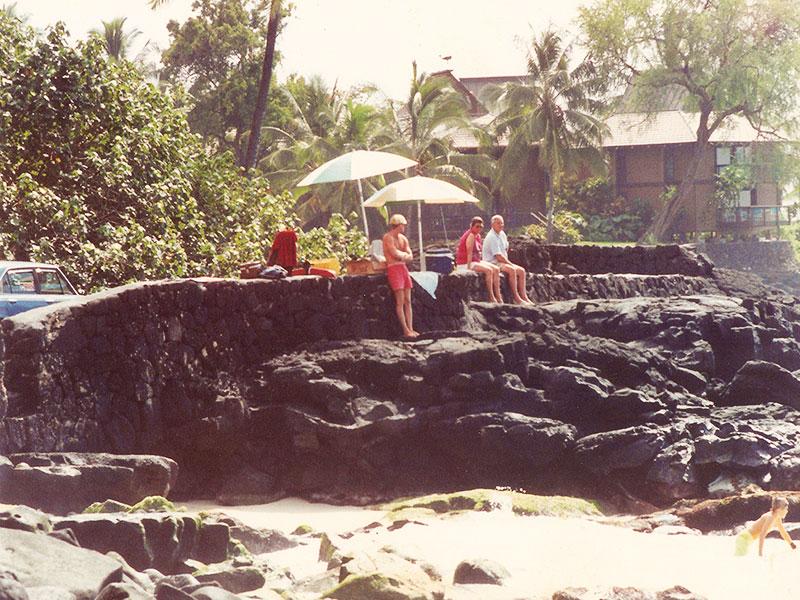 Steven A Martin PhD - Lifeguarding White Sands Beach Kona - County of Hawaii
