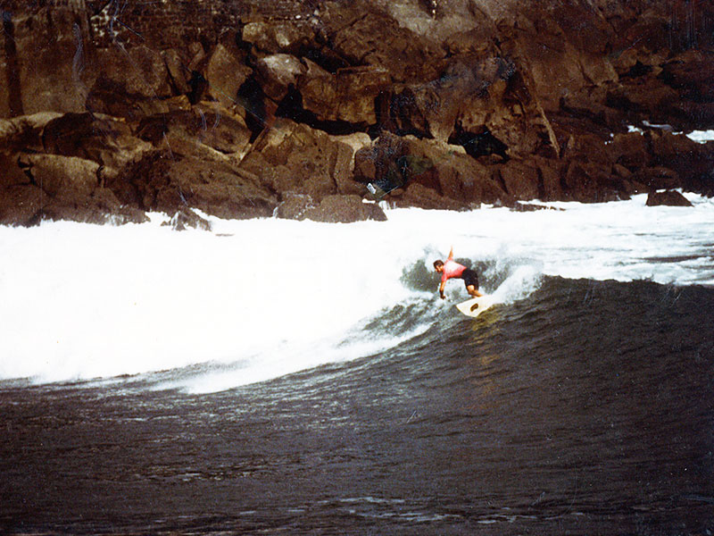 Surfing Ubiri point break | Spain | Karramarro (Crab) Basque Language | Steven A Martin