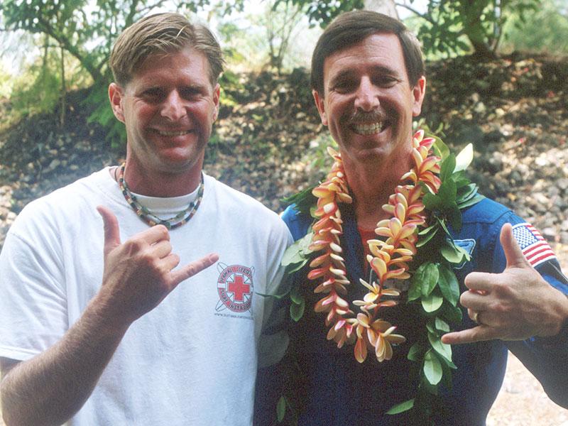 Steven Andrew Martin - Astronaut Scott Horowitz in Hawaii - NASA