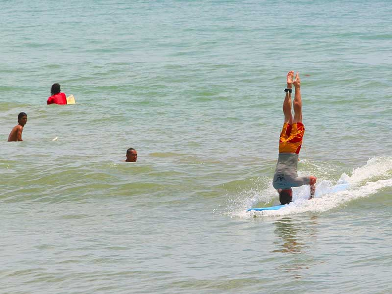 2007 Kamala Beach Surfing Contest, Thailand - Steven Andrew Martin