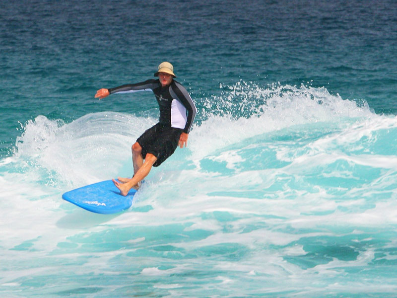 Surfing Experience and Lifestyle - Dr Steven Andrew Martin