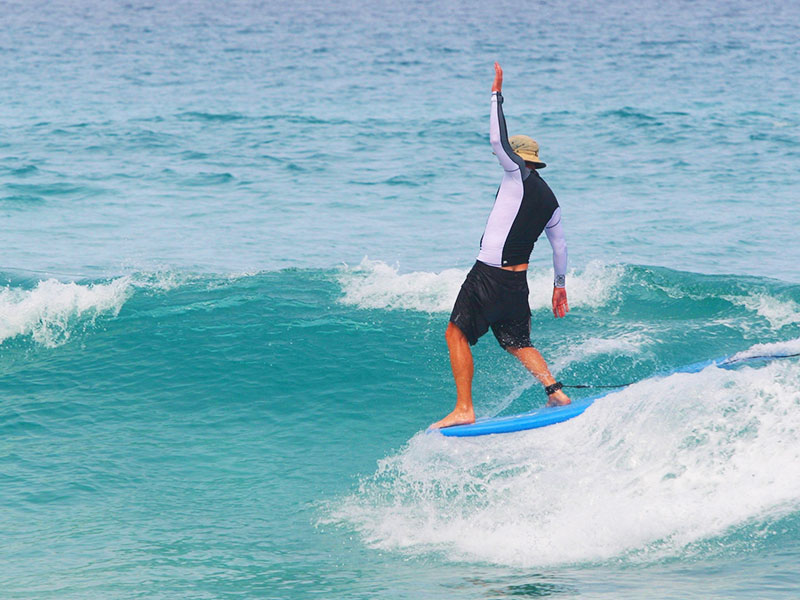 Surfing Phuket, Thailand - Kata Noi Beach - Steven A Martin | Surfer's Journal Learning Adventure