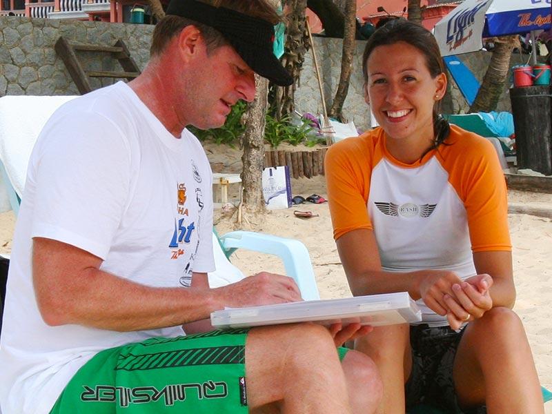 Surf Tourism Research - Dr Steven Andrew Martin - Kata Beach, Phuket, Thailand