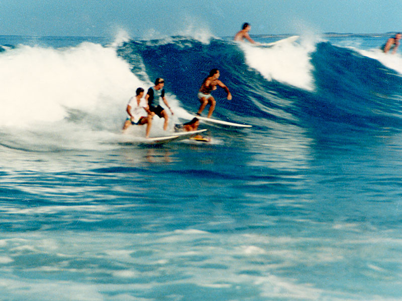 Dr Steven Andrew Martin - Surfing Scrapbook
