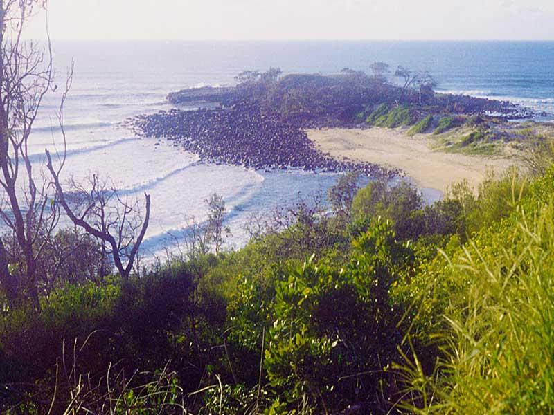 Surfing Angourie - Australia 1992 - Steven Andrew Martin