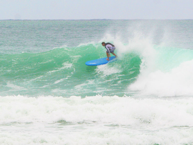 Surfing Kalim Reef Phuket - Steven Andrew Martin