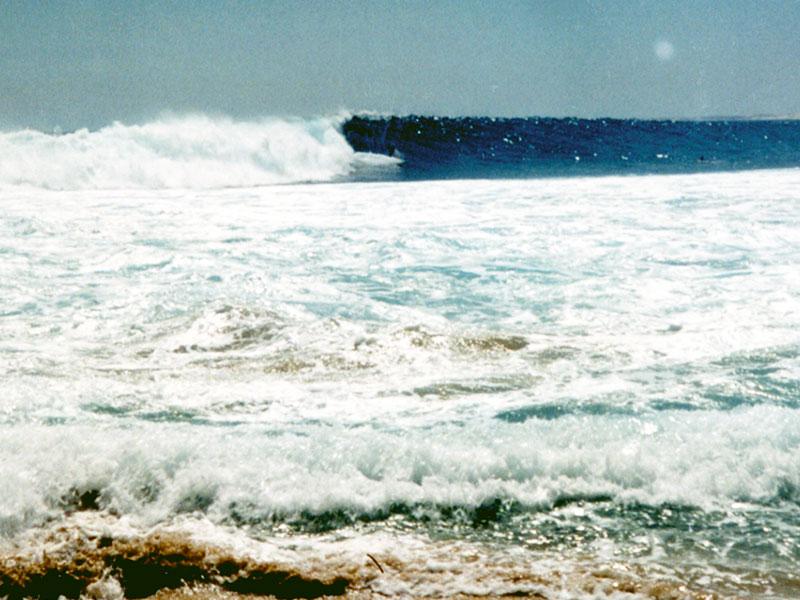 Surfing Red Bluff Western Australia - Steven Andrew Martin