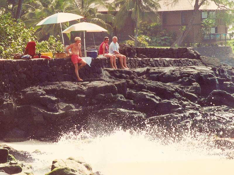 Lifeguarding White Sands Beach Kailua-Kona, Hawaii - Steven Andrew Martin