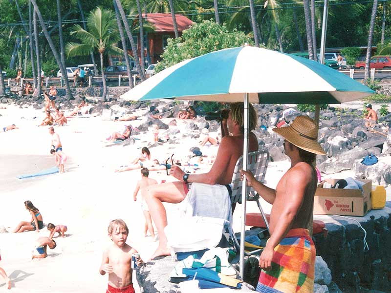 Lifeguarding | White Sands Beach | Kailua-Kona Hawaii 1990 | Steven Andrew Martin