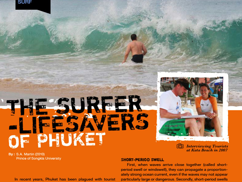 Surfer Lifesavers Phuket - Dr Steven Andrew Martin - Water Safety and Lifeguarding