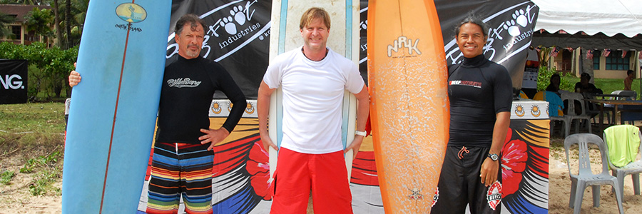 Steven Andrew Martin - Monsoon Mayhem Surfing Contest – Desaru Beach, Malaysia