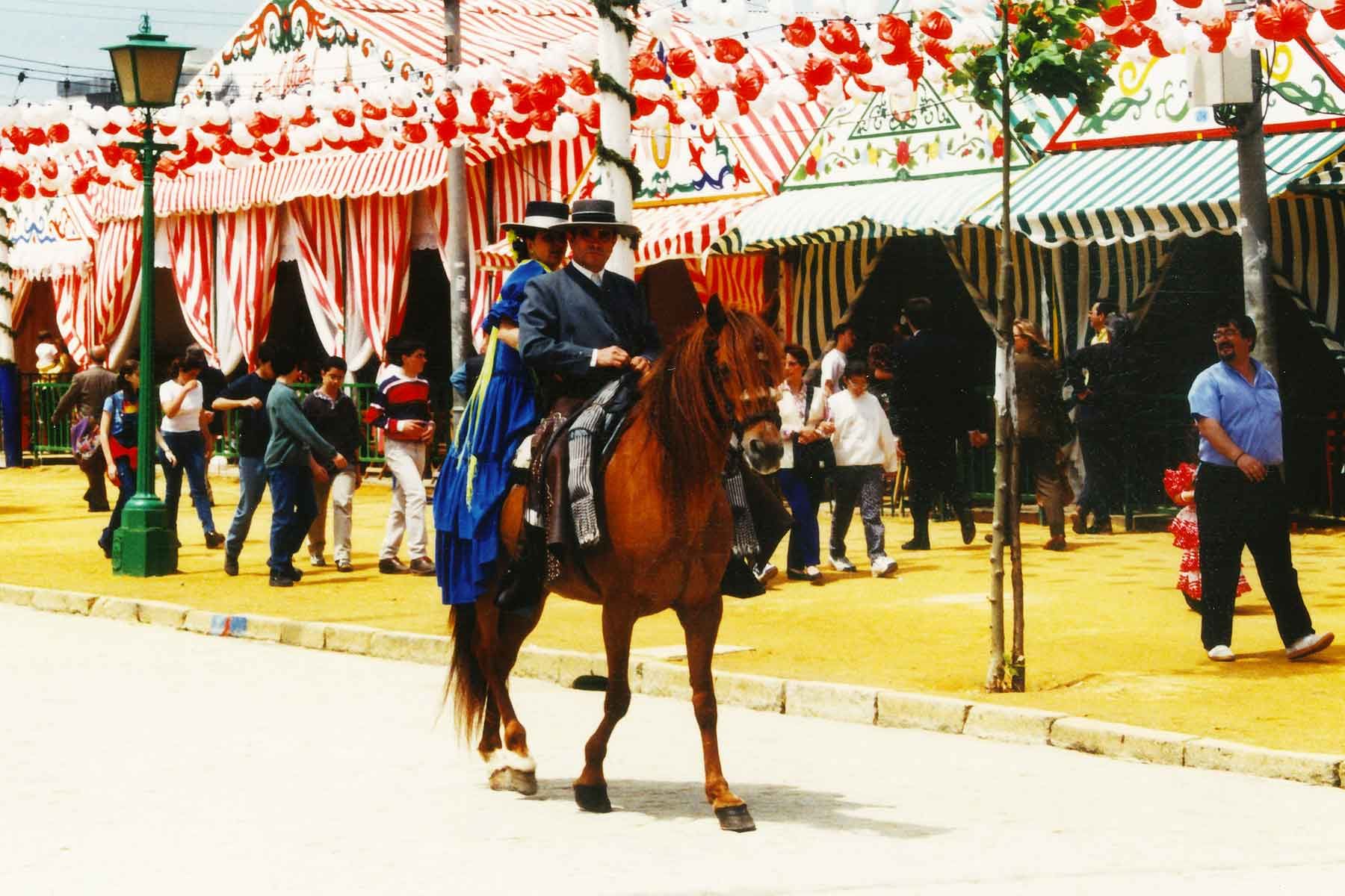 Seville Fair 1998 - Study Abroad Journal - College Consortium International Studies - CCIS - Steven Andrew Martin PhD