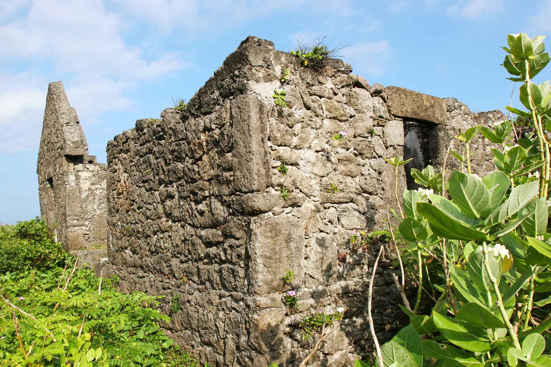 Limestone houses - Batan Island Philippines - Dr Steven Andrew Martin - Archaeology