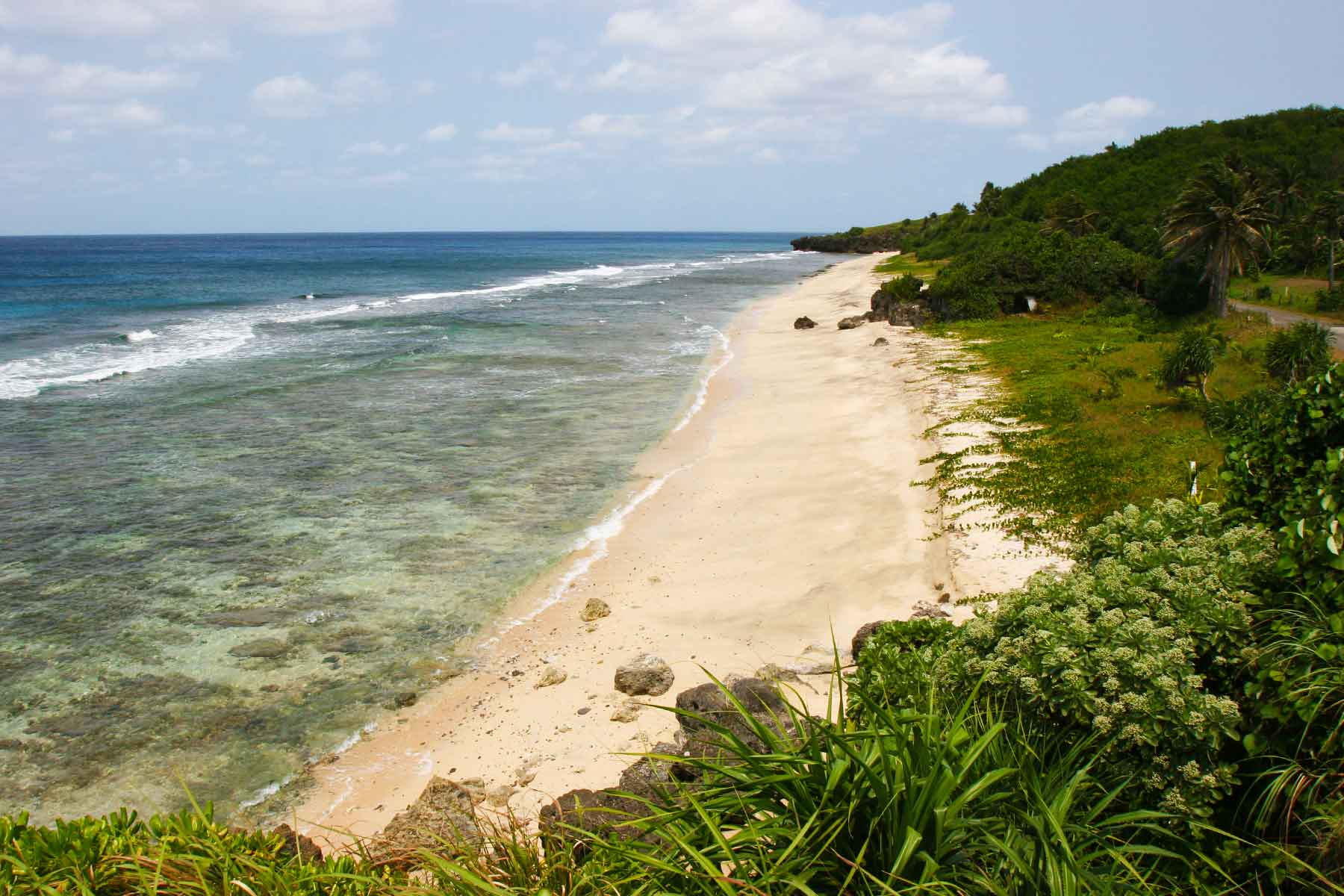 Batan Island beach - Batanes Islands Cultural Atlas Photo Journal - Steven Andrew Martin