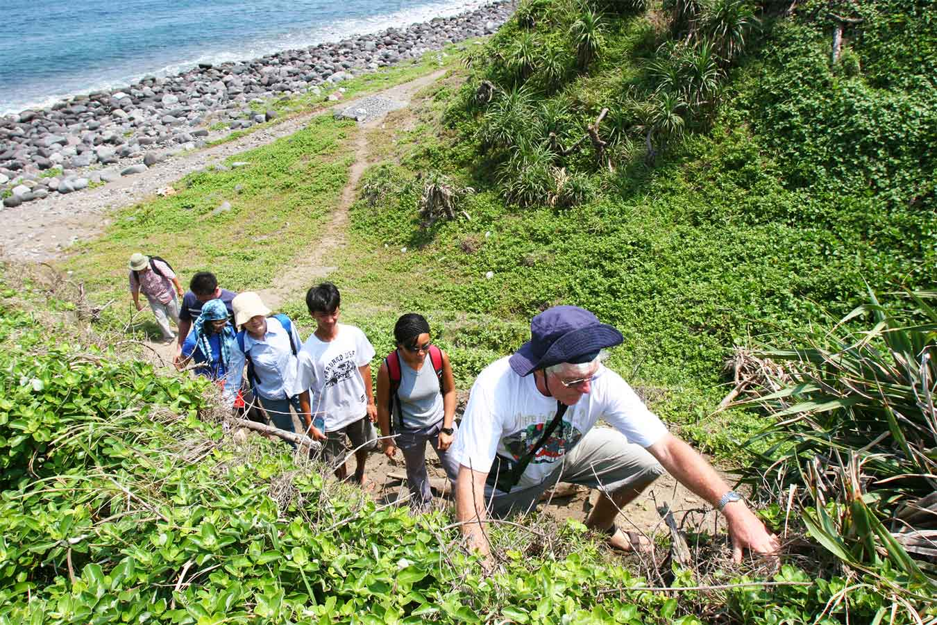 Peter Bellwood Leading the team - Batanes Islands - Austronesian People - Steven Andrew Martin