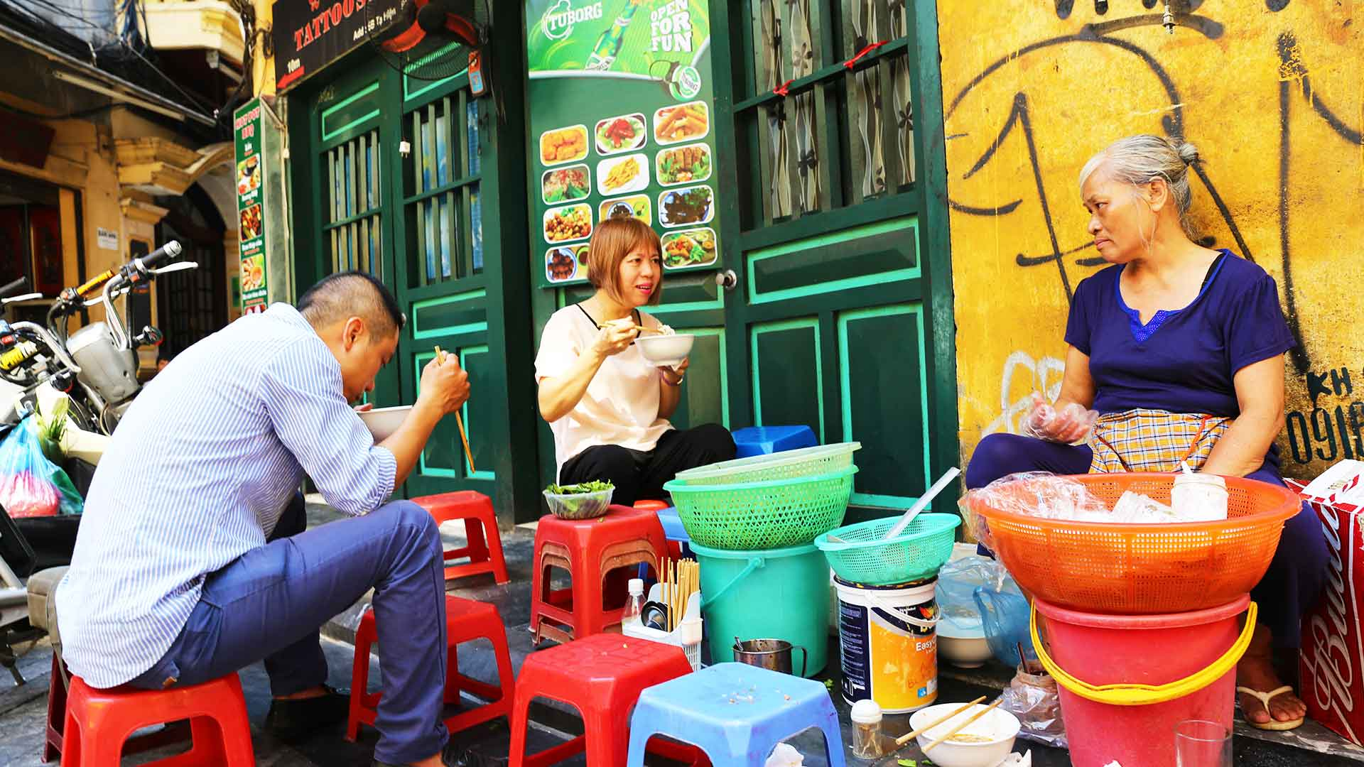 Traditional Vietnamese Noodles - Hanoi Vietnam - Southeast Asian Civilization - Dr Steven Martin Photo Journal