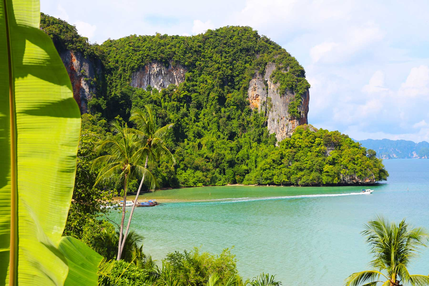Limestone Karst Research - Ao Phang Nga Marine National Park, Thailand - Environmental Studies - Dr Steven Andrew Martin