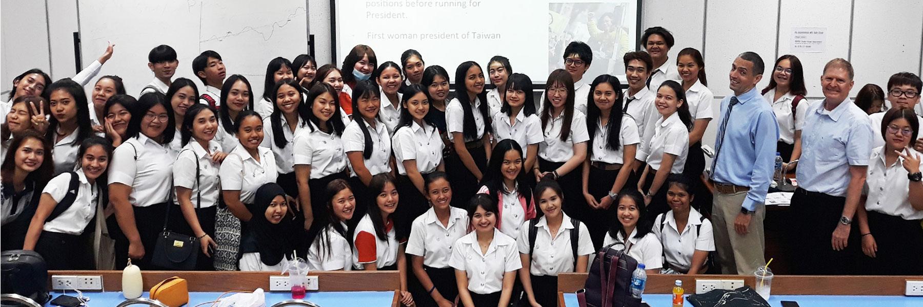 Taiwan Alumni Friends   Taiwan Scholarship   Dr Steven A Martin   Phuket Thailand Teaching