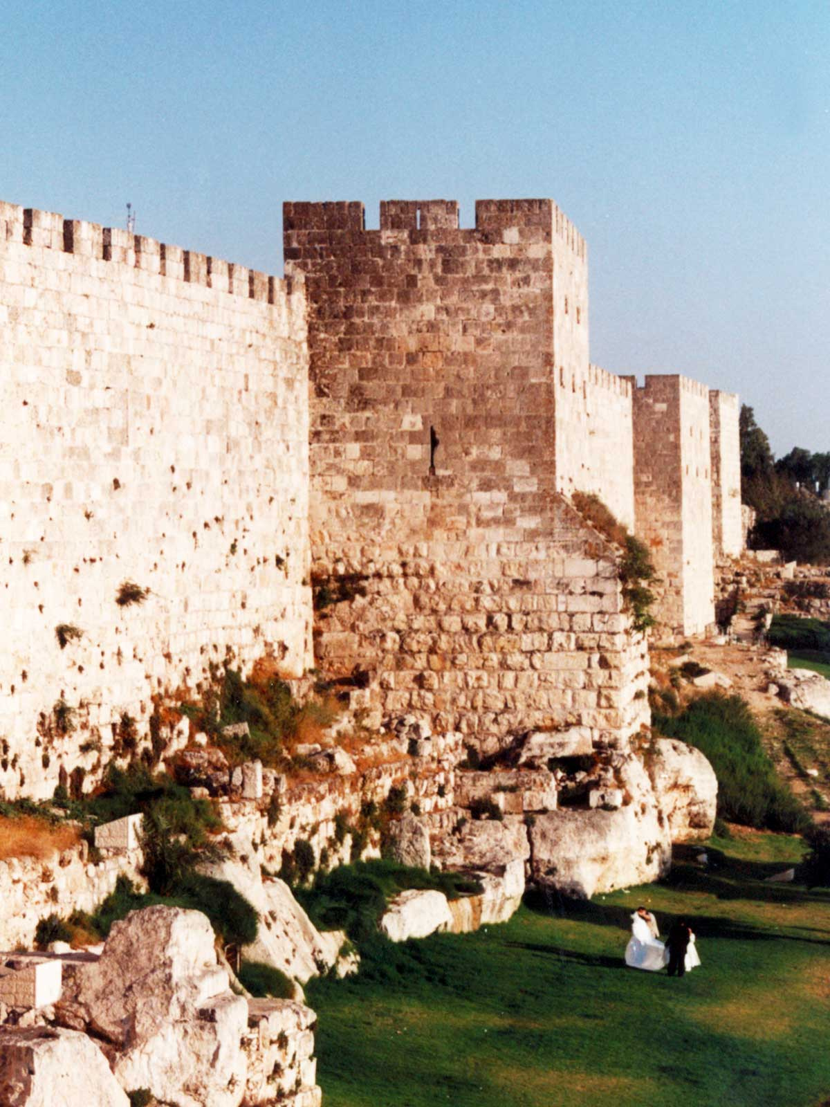 Jerusalem city wall | Israel | Dr Steven A Martin | International Education Online | Middle East