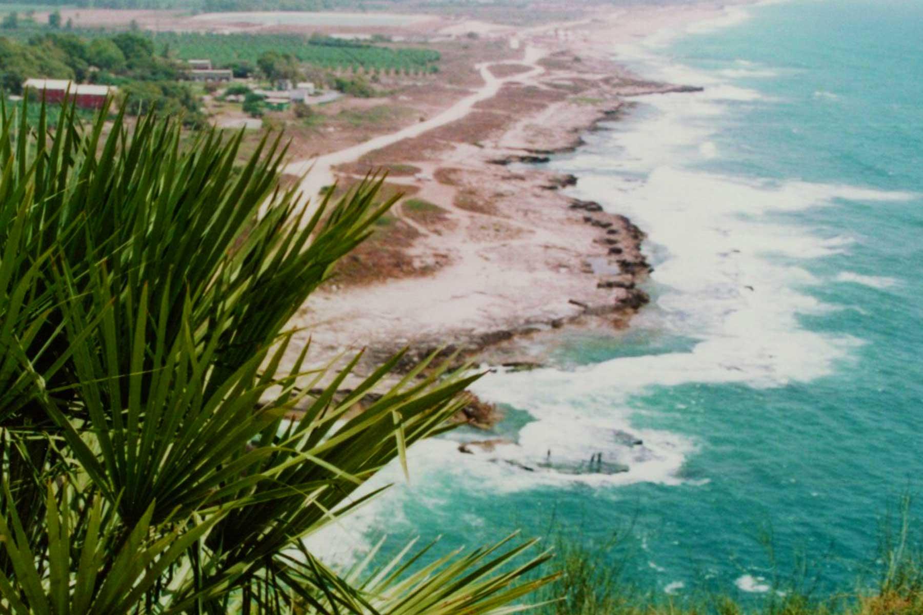Israel/Lebanon Coast at Rosh Hanikra | Dr Steven A Martin | International Education Online | Steven Andrew Martin