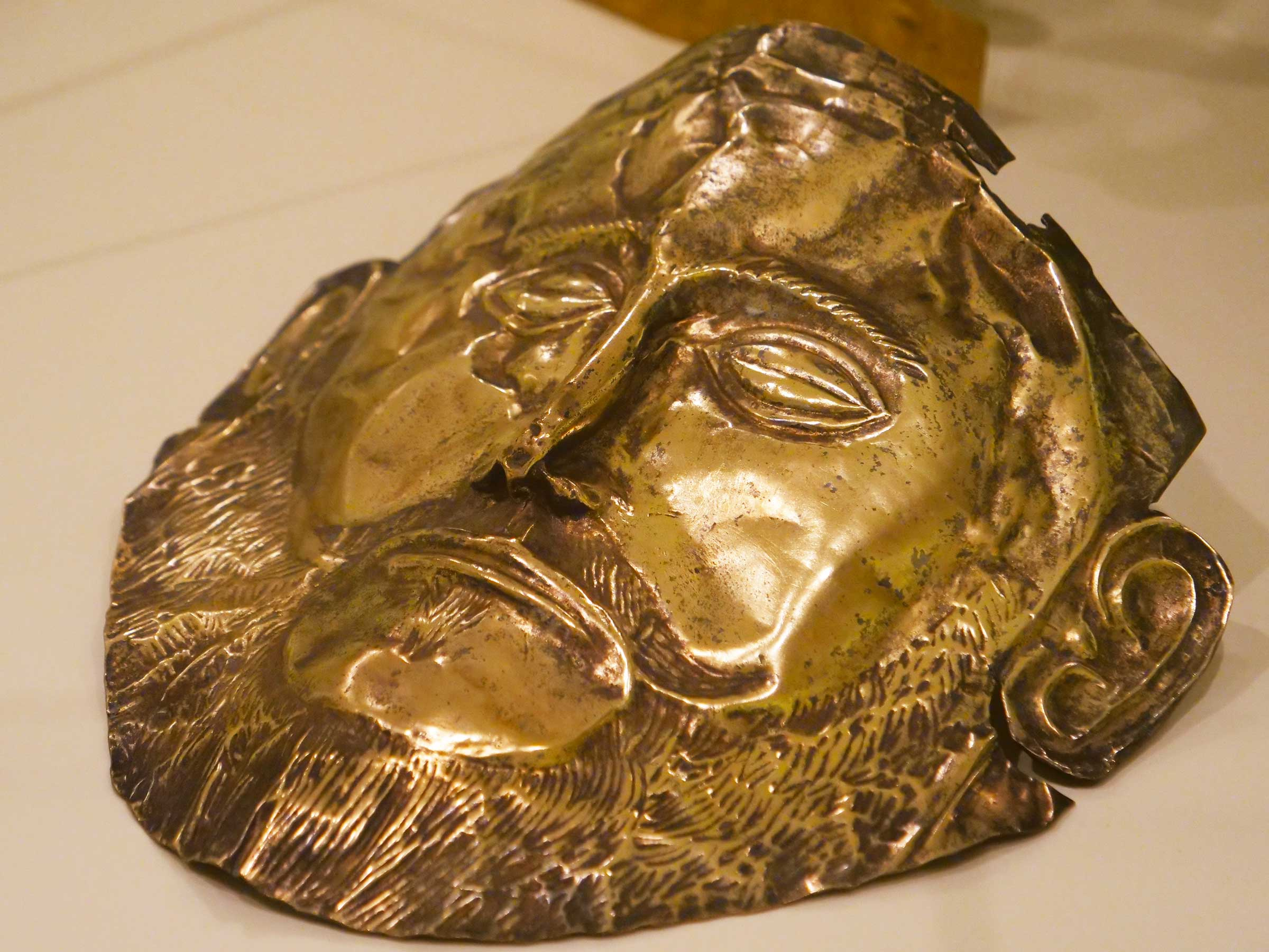 Gold Mask of Agamemnon | The Mycenaean Civilization | Bronze Age Greece | Dr Steven Andrew Martin | Greek Archaeology Research