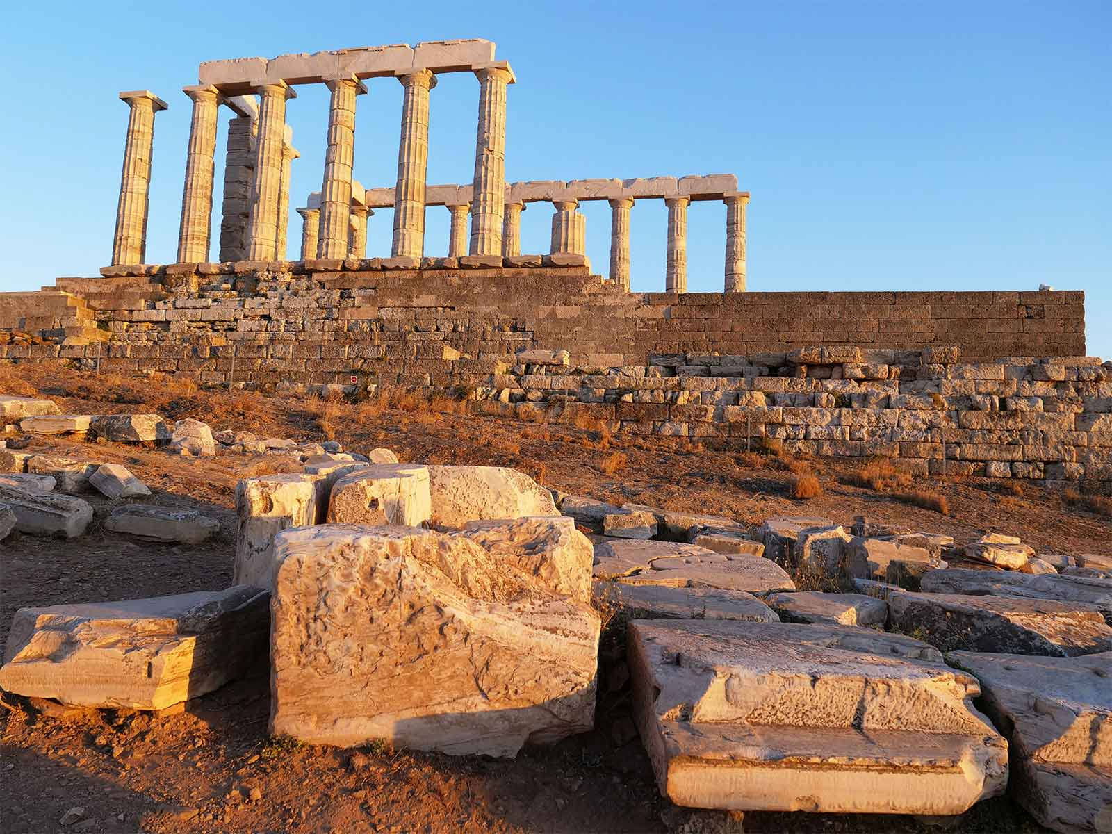 Temple of Poseidon | Cape Sounion | Dr Steven Andrew Martin | Greek Archaeology Research 2019