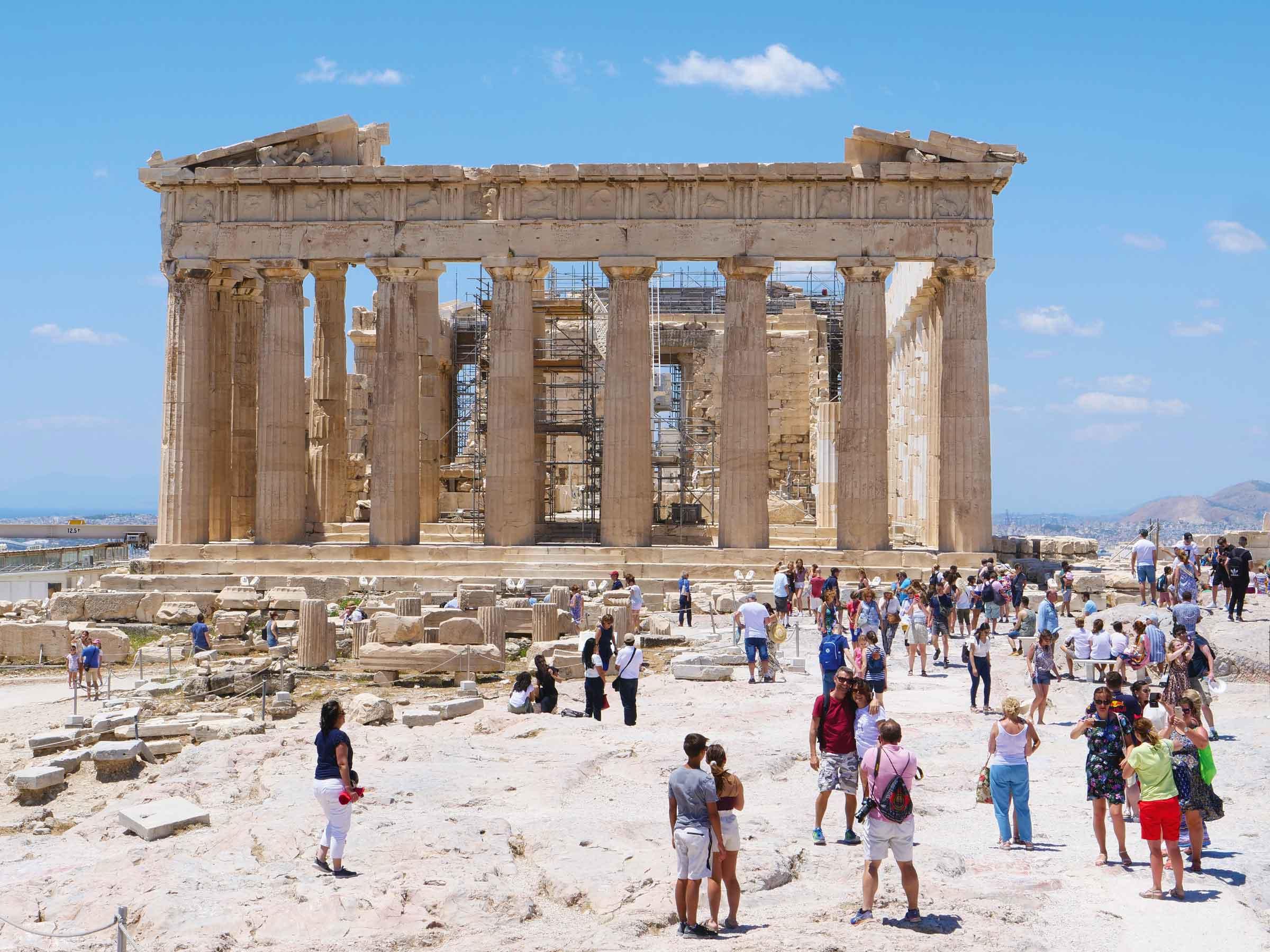 The Acropolis and Parthenon | Dr Steven Andrew Martin | 2019 Photo