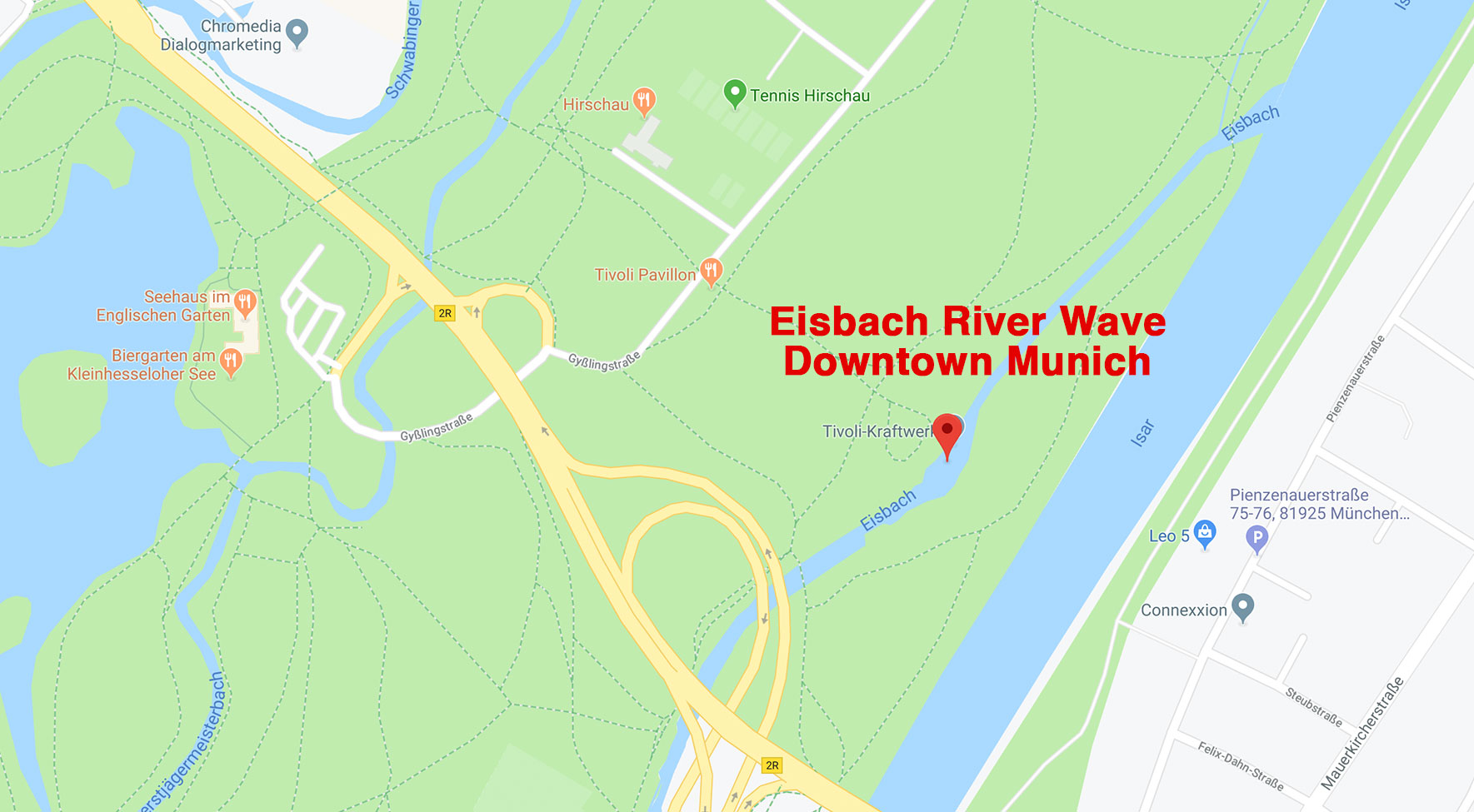Surfing the Eisbach River Wave | Downtown Munich, Germany | Dr Steven A Martin | Surf Tourism Research