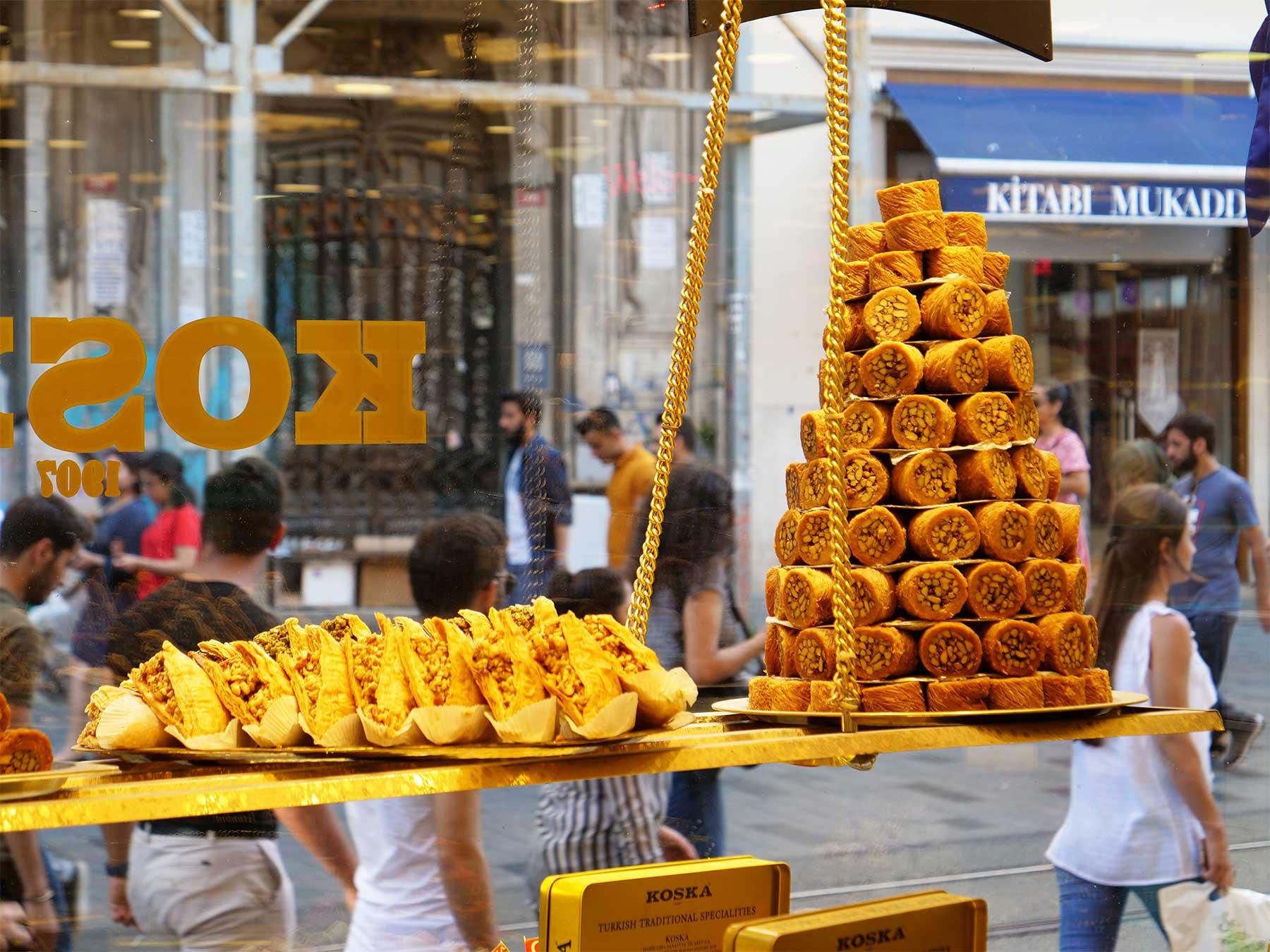 Koska Turkish Sweets | Istiklal Street | Taksim Beyoglu Istanbul Turkey | Steven Andrew Martin