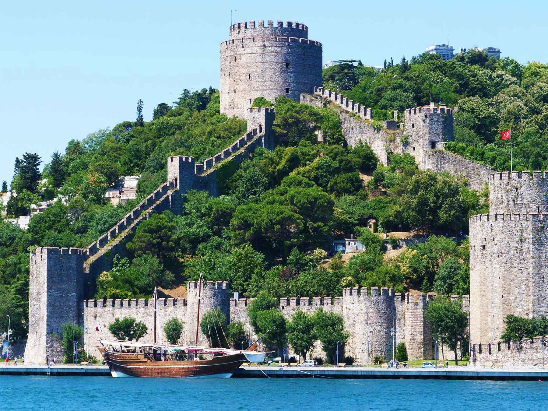 Rumelihisari Bosphorus Rumelian Castle 1492 Turkey | Professor Steven Andrew Martin | 1452  Ottoman Sultan Mehmed the Conqueror (Mehmed II)