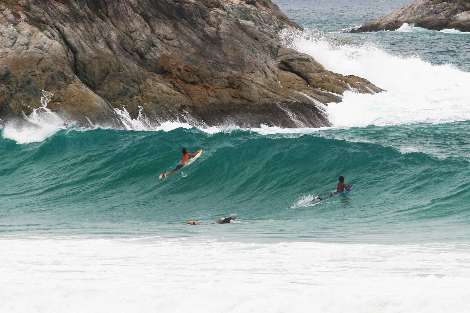 Nai Harn Beach - Surfing Thailand Kata Beach - Surf Tourism Research - Dr Steven Martin - Surf Science Andaman Sea