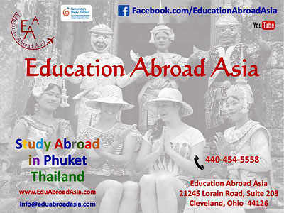 Study in Phuket - Dr Steven Andrew Martin - Education Abroad Asia