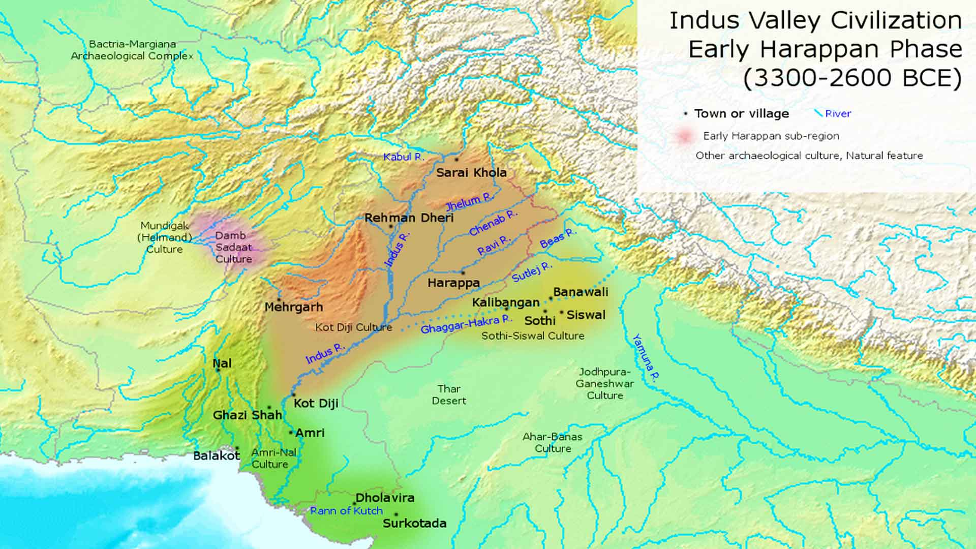 Early Harappan Phase - Indus River Civilization - Pakistan Photo Journal