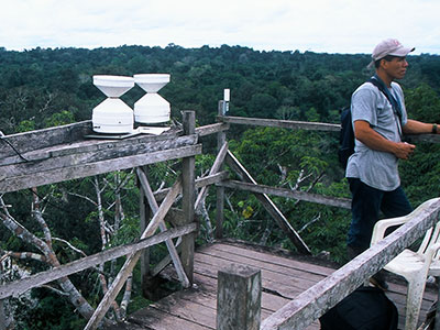Tree-top research station at Tiputini - Steven Andrew Martin - Amazon Photo Journal