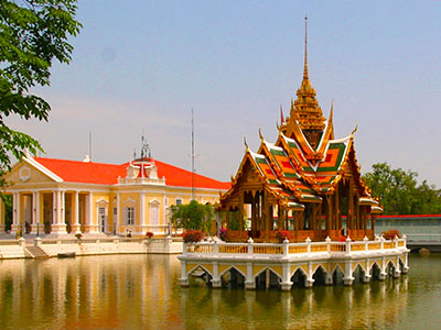 Bang Pa In | Thai summer palace | Ayutthaya Province, Thailand | Steven A Martin - Thai Photo Journal