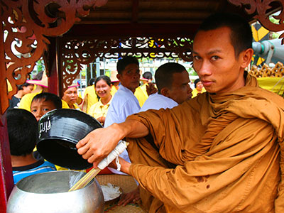 Chak Phra Buddhist Festival, Surat Thani Province - Dr Steven Andrew Martin