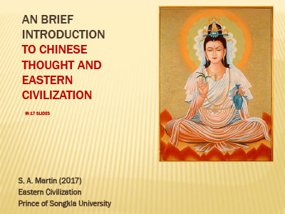 Chinese Thought | Eastern Tradition - Steven A Martin, PhD Lecture - Eastern Civilization - Steven Martin