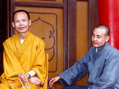 Study Abroad - 1995 Silk Road - Xian China Monks - Steven A Martin PhD