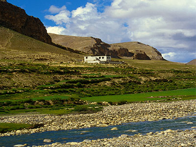 Mountain stream - Tibet Photo Journal - Steven Andrew Martin