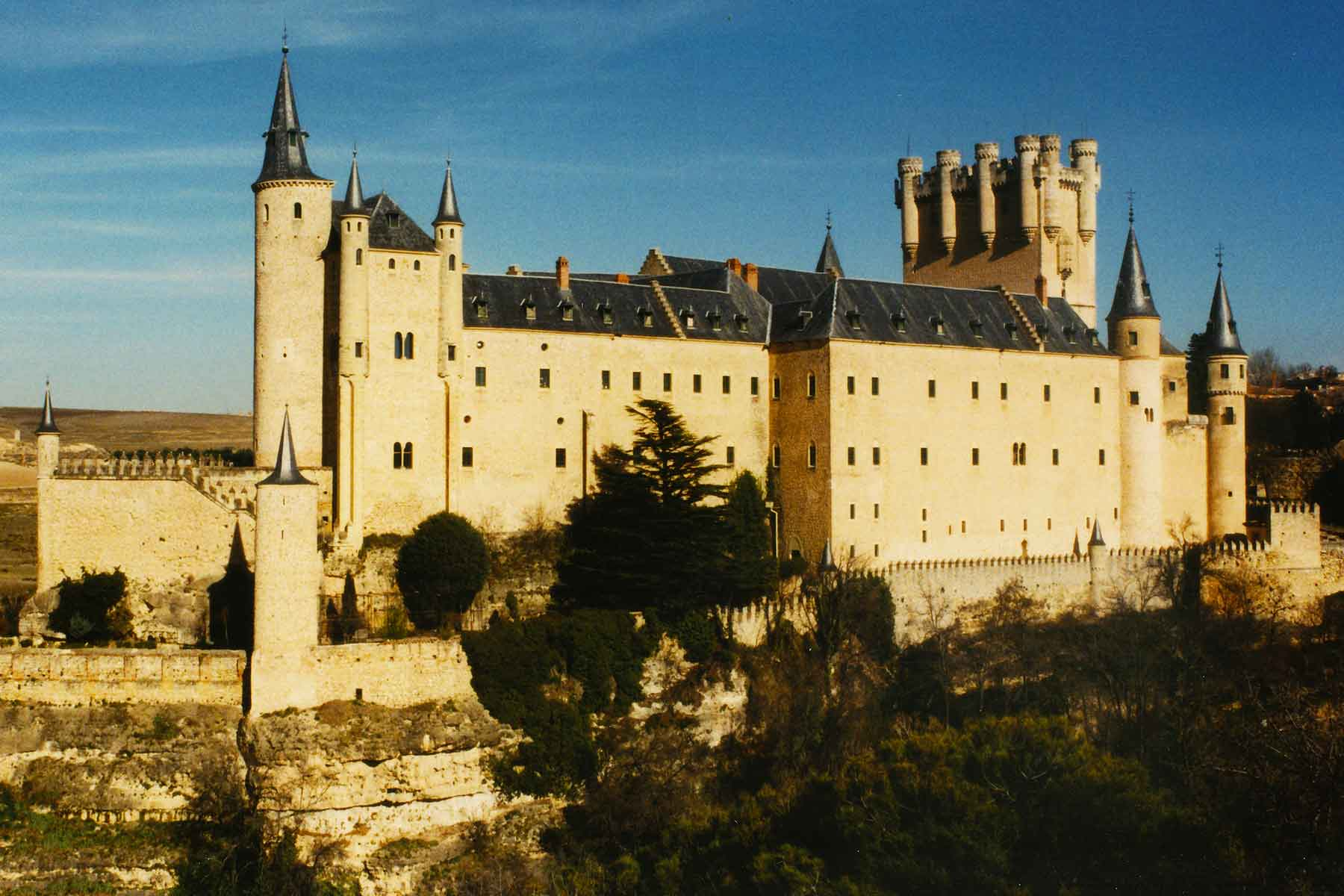 Alcazar - Segovia - Spain - Steven Andrew Martin - Study Abroad Journal 1998