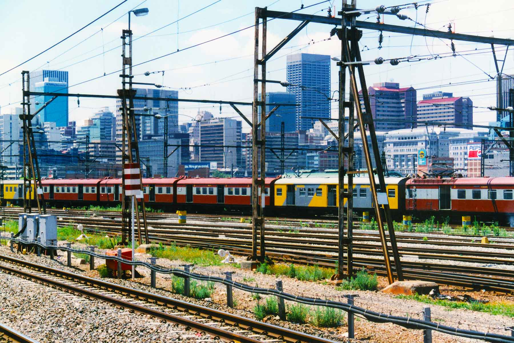 Cape Town train station - Steven Andrew Martin PhD - South Africa Photo Journal