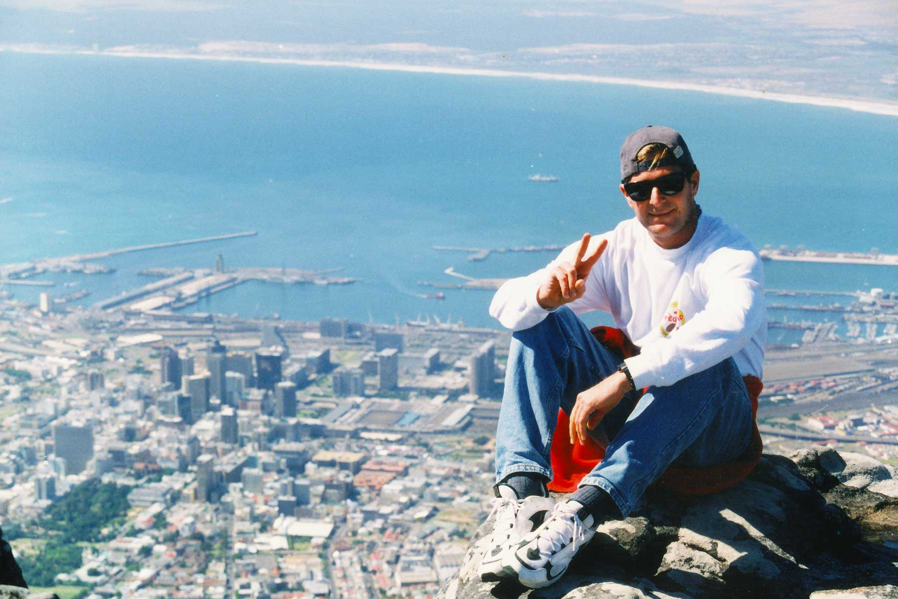 Atop Table Mountain - Cape Town - Steven Andrew Martin PhD - South Africa Photo Journal
