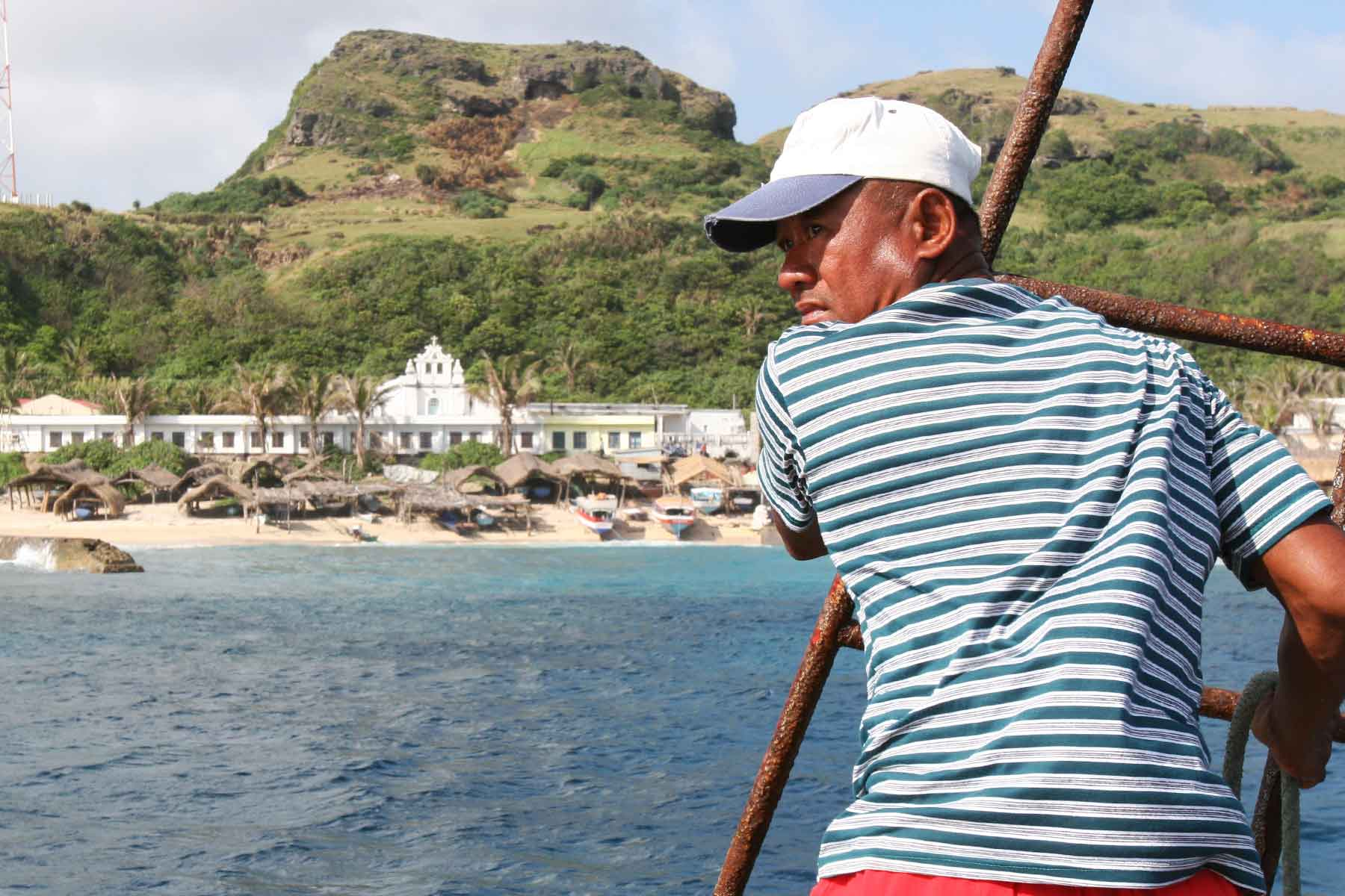 Arriving at San Vicente, Sabtang - Batanes Islands Cultural Atlas - Steven Andrew Martin - 2006 Philippines Photo Journal