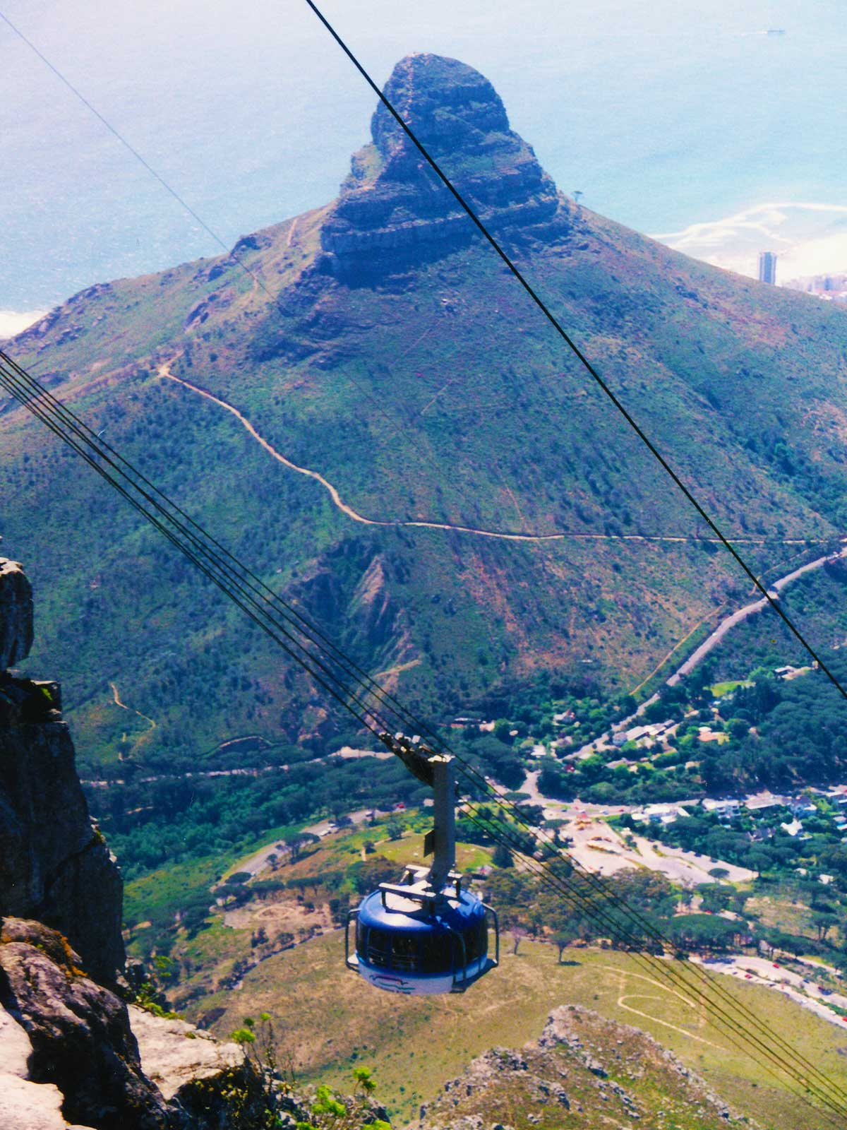 Lion's Head   Cape Town Cable Car   Table Mountain   Dr Steven Andrew Martin   Study Abroad Journal
